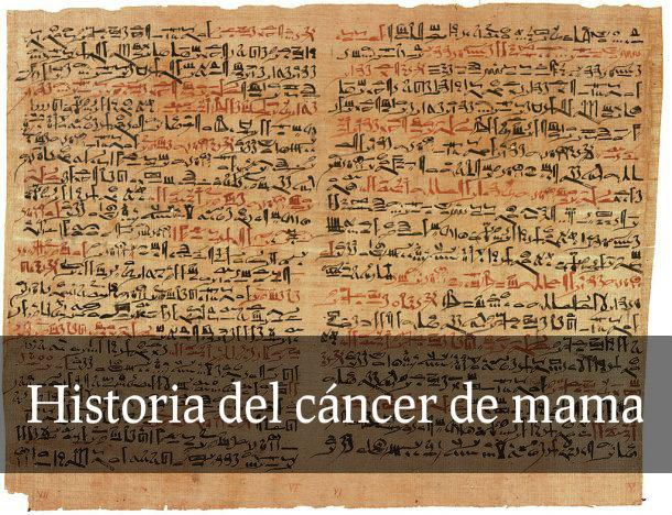 historia del cancer de mama