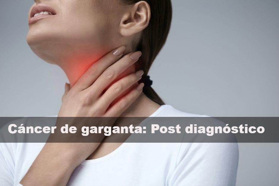 Vida post diagnóstico de cáncer de garganta