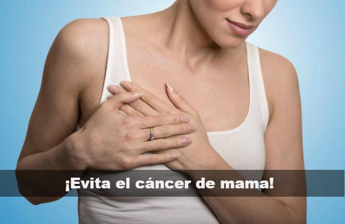 Cómo se puede evitar el cáncer de mama